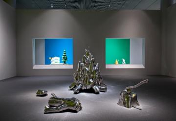 Installationshot af fredrik Raddums 'Get Lost...', ARoS, 2011. Foto: Ole Hein Pedersen