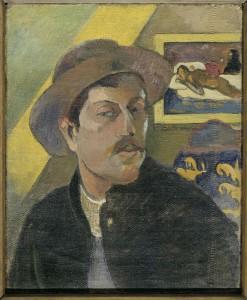 Paul Gauguin: 'Selvportræt', 1893-1894