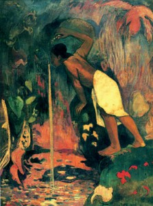Paul Gauguin: 'Pape moe', 1893