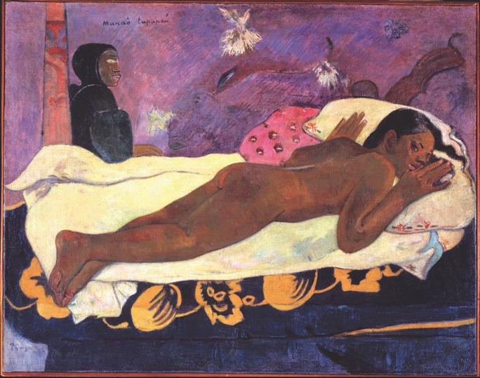 Paul Gauguin: 'Manao tupapau', 1892