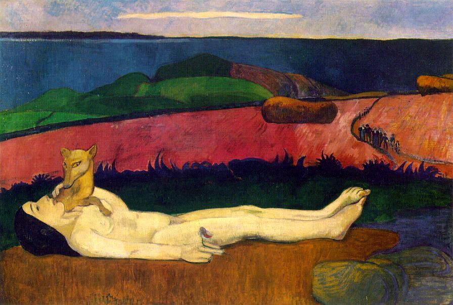 Paul Gauguin: 'Mødomstabet', 1890-91