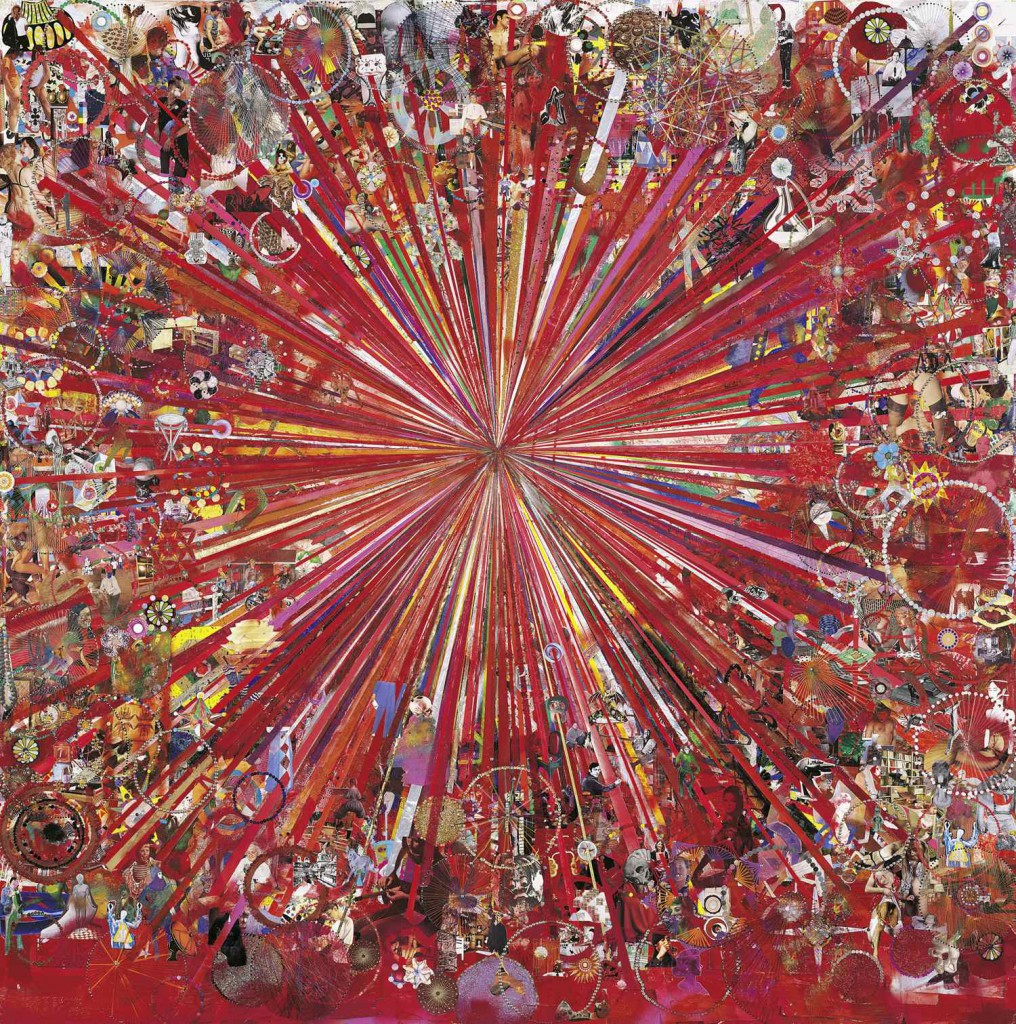 Tal R: 'Adieu Interessant (Red)', 2005-2008. The Ekard Collection