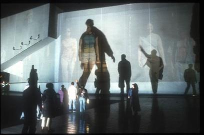 Rafael Lozano-Hemmer: 'Body Movies', Rotterdam