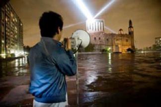 Rafael Lozano-Hemmer: 'Voz alta', México City
