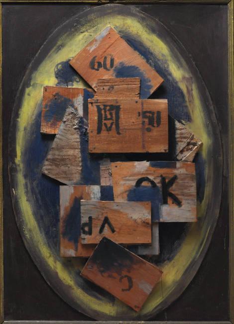Vilhelm Lundstrøm: 'Det andet bud', 1918.