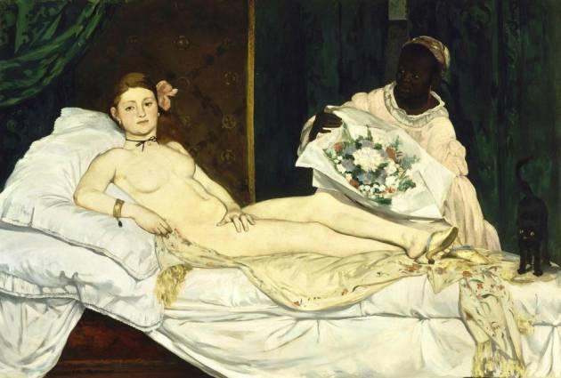 Éduard Manet: 'Olympia', 1863