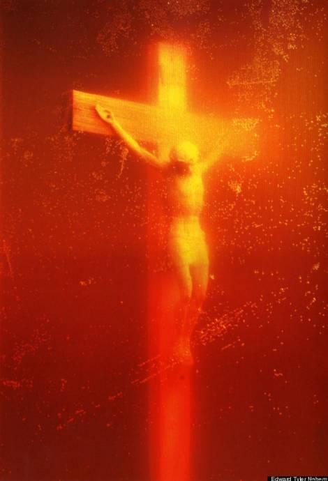 André Serrano: 'Piss Christ', 1987