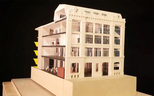 Sådan skal Galeries Lafayette gerne komme til at se ud ...