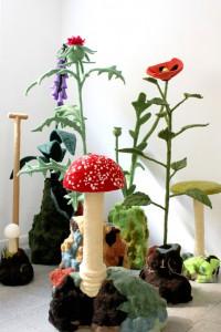 Detalje fra Andreas Schulenburgs serie 'Botanical Garden - The Natural Unreal' 2014.