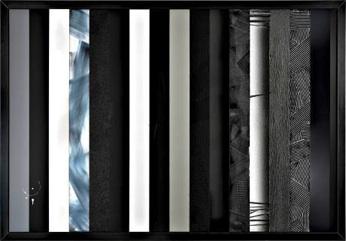 Anselm Reyle: 'Uden titel', 2008. Findes i Arkens samling