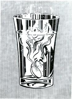Roy Lichtenstein: 'Alka Seltzer', 1966