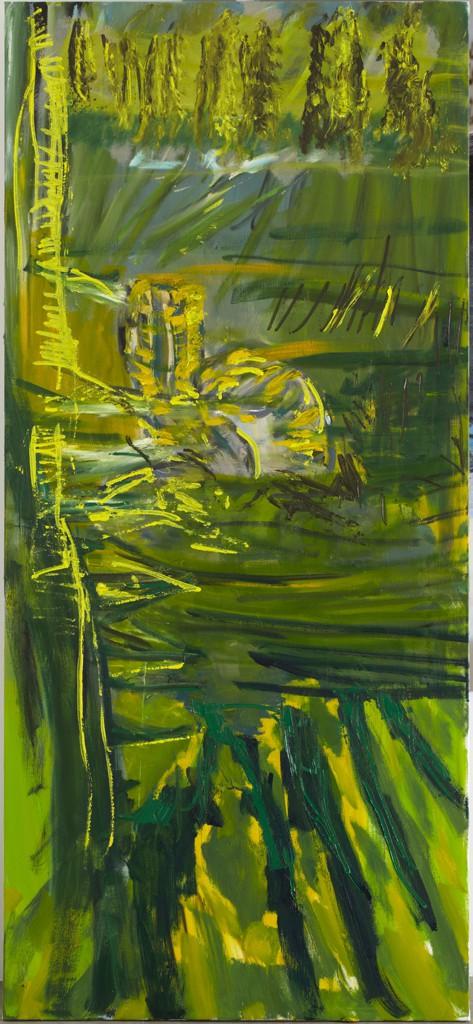 Per Kirkeby: 'Saint Caterina of Alexandria III', 2010