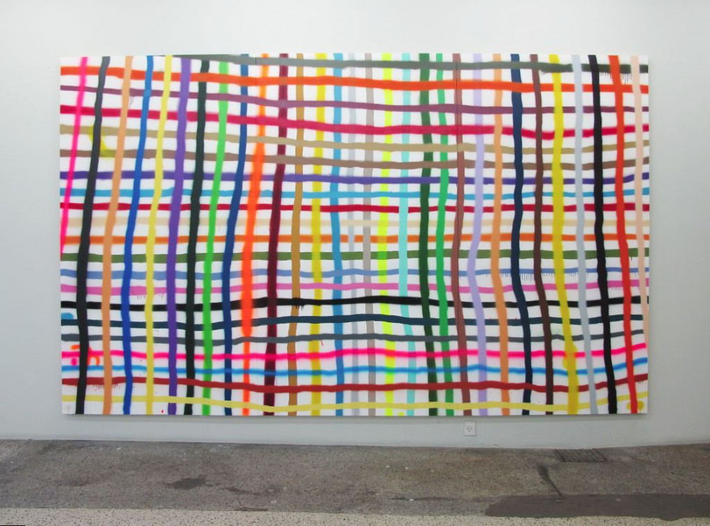 Alicia McCarthy: 'Large Weave', 2015