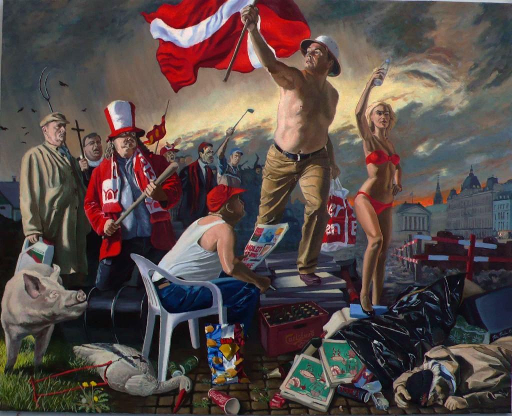 Peter Carlsen: 'Danmark 2009', 2013