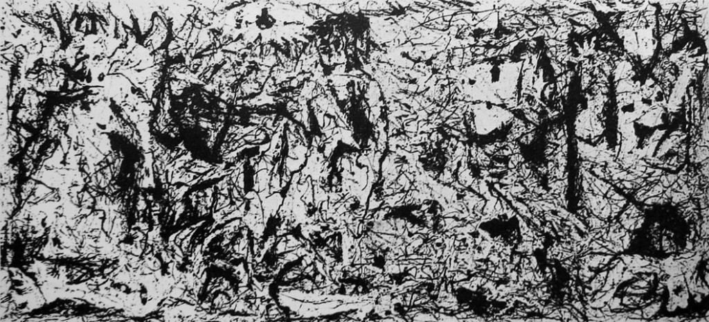 Art & Language: 'Picasso's Guernica in the Style of Jackson Pollock', 1980