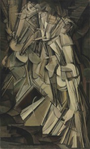 Marcel Duchamp: 'Nude descending a Staircase, No. 2', 1912