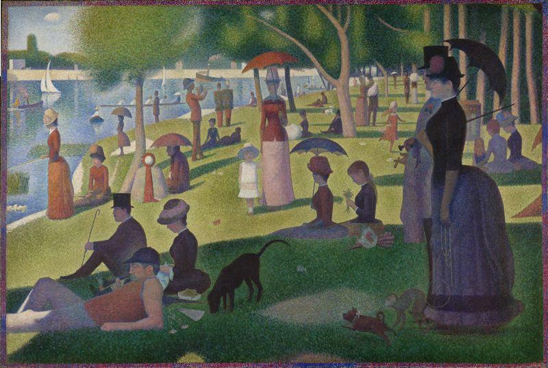 Georges Seurat: 'La Grand Jatte', 1884