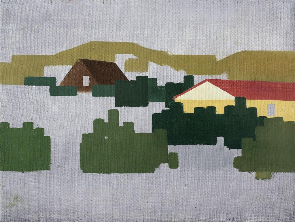 Lise Blomberg Andersen: 'Naboer i sommerhus område #2'