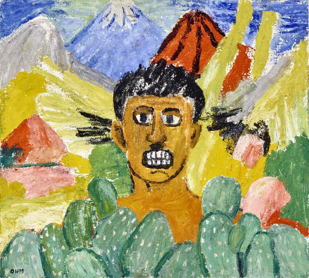 Olivia Holm-Møller: 'Den rasende maler (Orozco)', 1950. Foto: Ole Mortensen. ©Kunstnerens arvinger