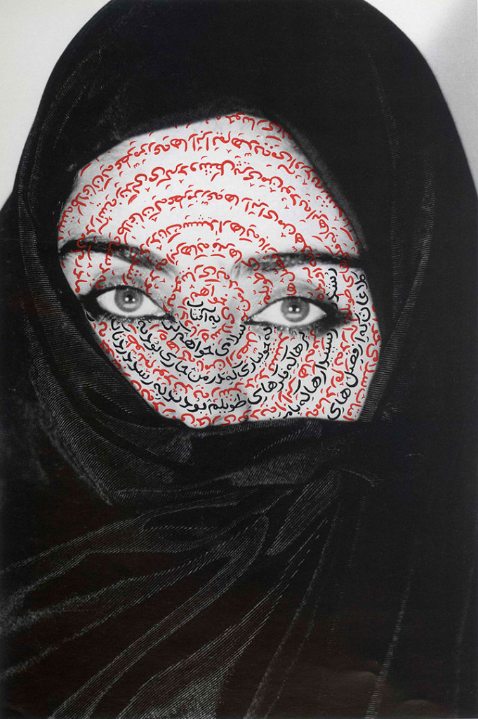 Shirin Neshat: 'I Am Its Secret (Women of Allah)', 1993. Foto: Plauto. © Shirin Neshat. Courtesy Gladstone Gallery, New York and Brussels