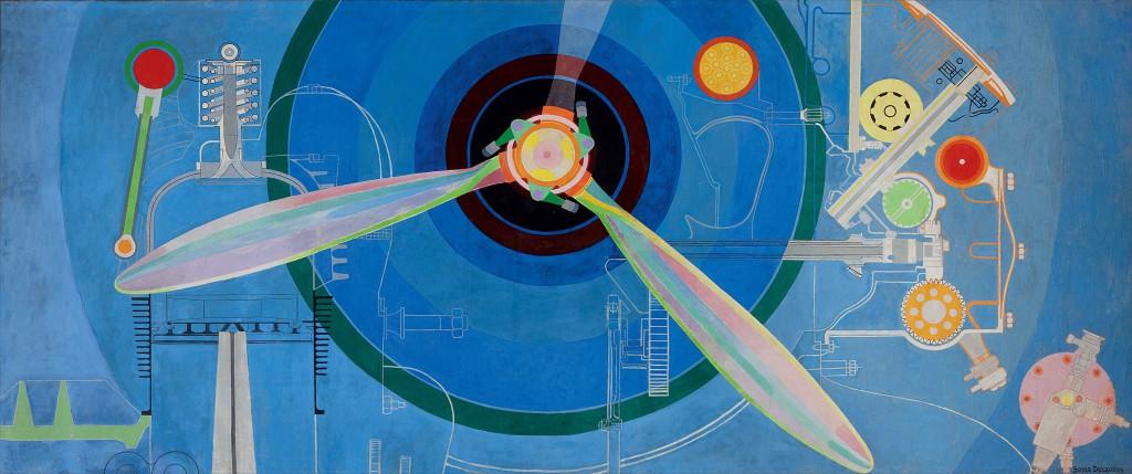 Sonia Delaunay: 'Propeller (Air Pavilion)', 1937. Skissernas Museum, Lund © Pracusa 2014083