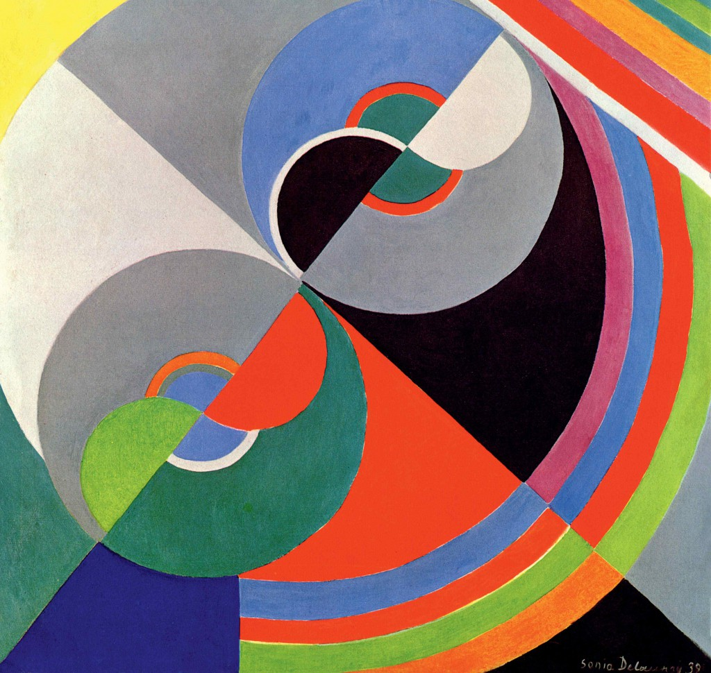 Sonia Delaunay: 'Rhythm Colour no. 1076', 1939. Centre National des Arts Plastiques/Fonds National d'Art Contemporain, Paris© Pracusa 2014083