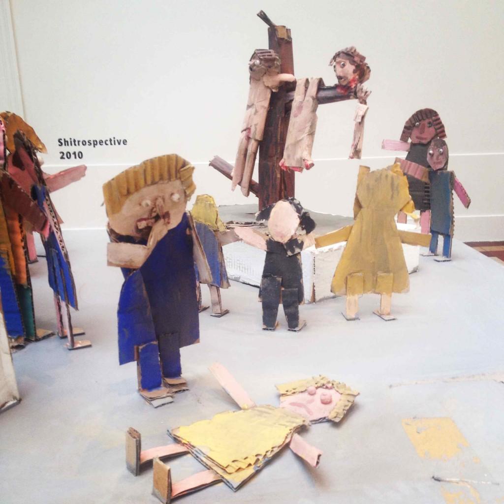 Jake & Dinos Chapman: 'Shitrospective', 2010, her udsnit fra udstillingen 'Sensation'
