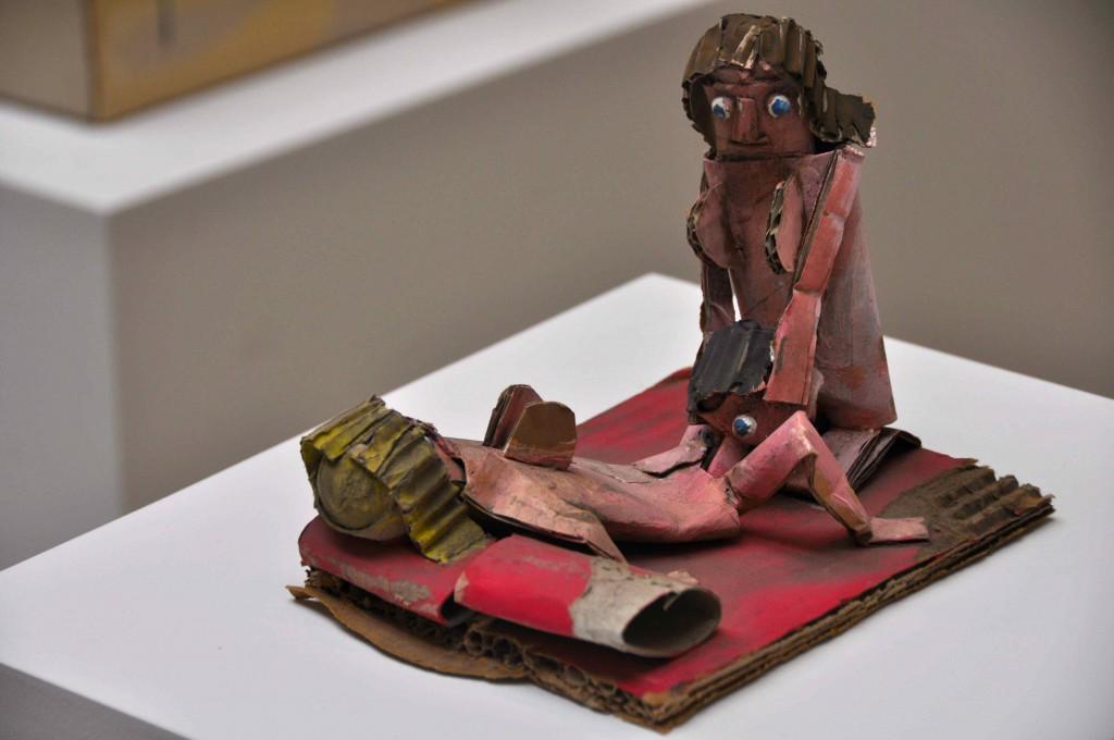 Jake & Dinos Chapman: 'Shitrospective', 2010, her detalje fra 'Bring Me the Head of Franco Toselli'