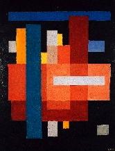 Franciska Clausen: 'Komposition på sort bund', tidlige 1920'ere