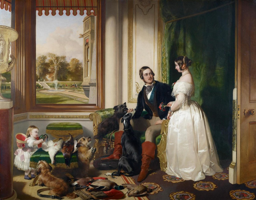 Sir Edwin Landseer: 'Windsor Castle in modern times', 1840-1843