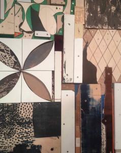 Mit eget foto af en detalje på Peter Linde Busks udstilling i Gl. Strand, 2015