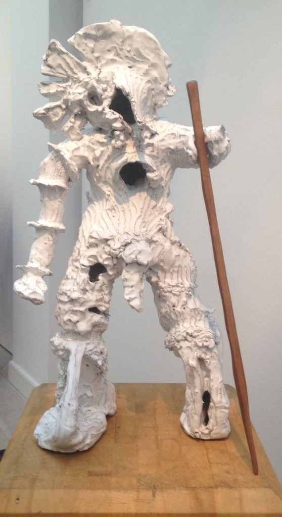 Mit eget foto af en skulptur af Peter Linde Busk, Gl. Strand, 2015