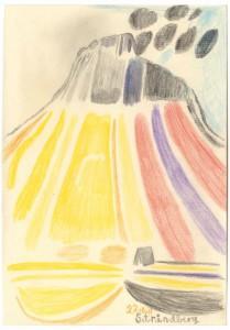 Tal R: 'Strindberg, 22.08.11', 2011