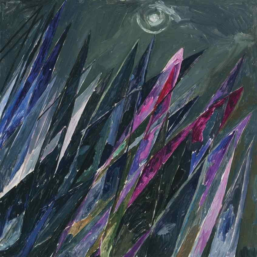 Else Alfelt: 'Spidser der rækker mod himlen', 1945