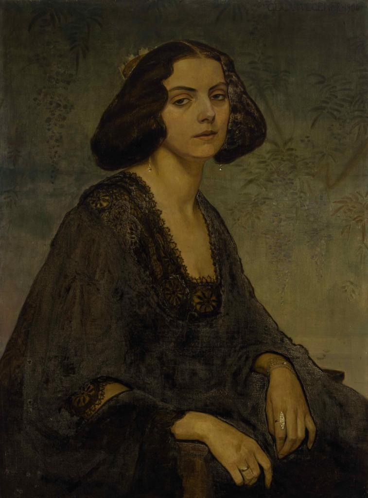Gerda Wegener: 'Portræt af Ellen von Kohl', 1906. Foto: Etienne Frossard