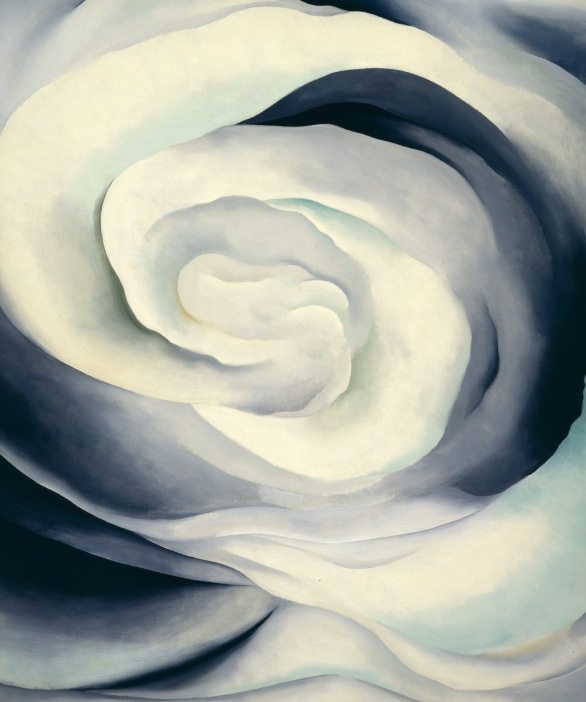 Georgia O'Keeffe: 'Abstraction White Rose', 1927