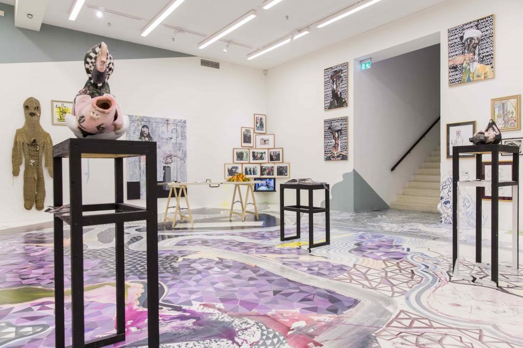 Installationshot fra Den Frie, 2015: Lior Zilberstein