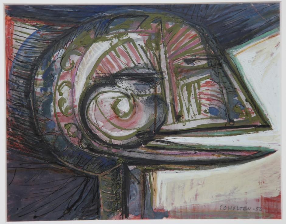 CO Hultén: 'Hoved', 1950