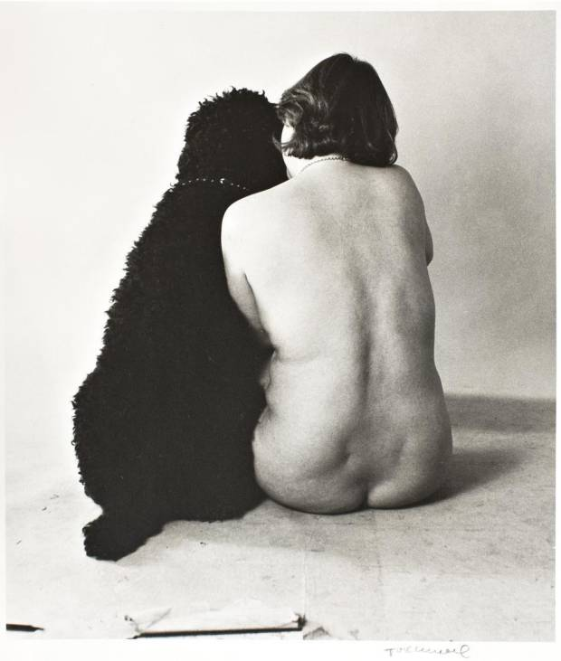 Tove Kurtzweil: 'Susanne og Katrine', uden år. Copyright: Tove Kurtzweil