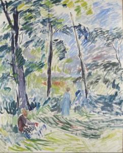 Sigurd Swane: 'Bøgen', ca. 1925. Sorø Kunstmuseum. Foto: Anders Sune Berg