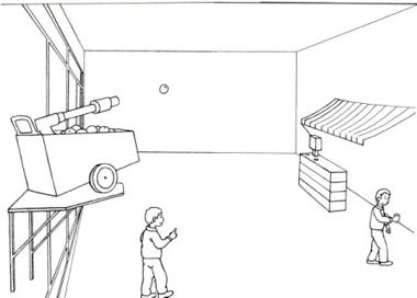 A Kassens tegning af 'Juice' til Charlottenborgs Forårsudstilling, 2006
