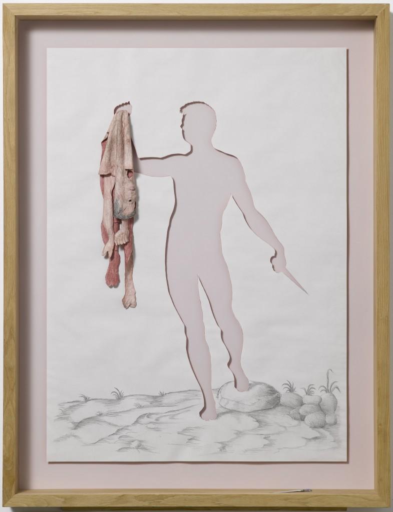 Peter Callesen: 'Hanging Skin'