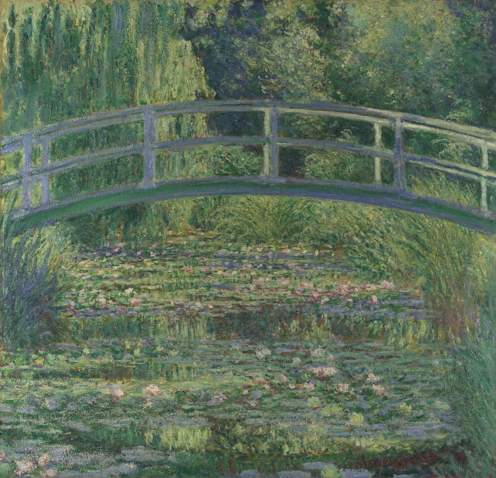 Claude Monet: Åkandedammen', 1899. National Gallery London