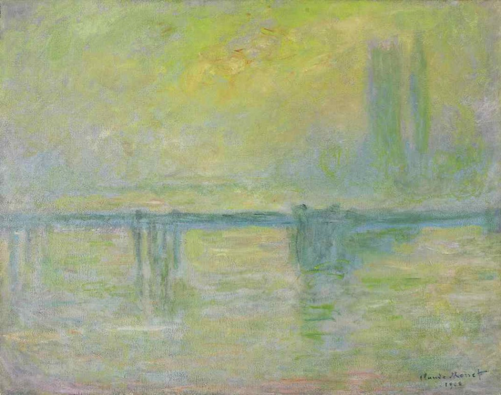 Claude Monet: 'Charing Cross Bridge, fog', 1902. Art Gallery of Ontario