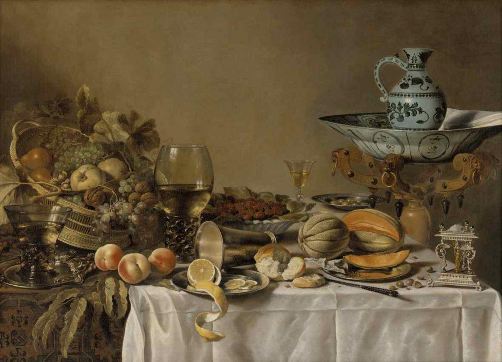 Pieter Claesz: 'Nature Morte', 1640'erne. Statens Museum for Kunst. Foto: SMK