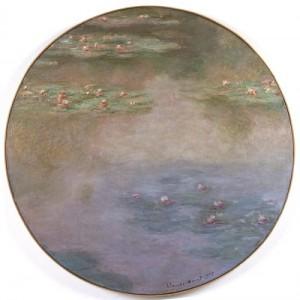 Claude Monet: 'Åkander', 1907. Musee d'art moderne et contemporin de Saint Etienne Metropole