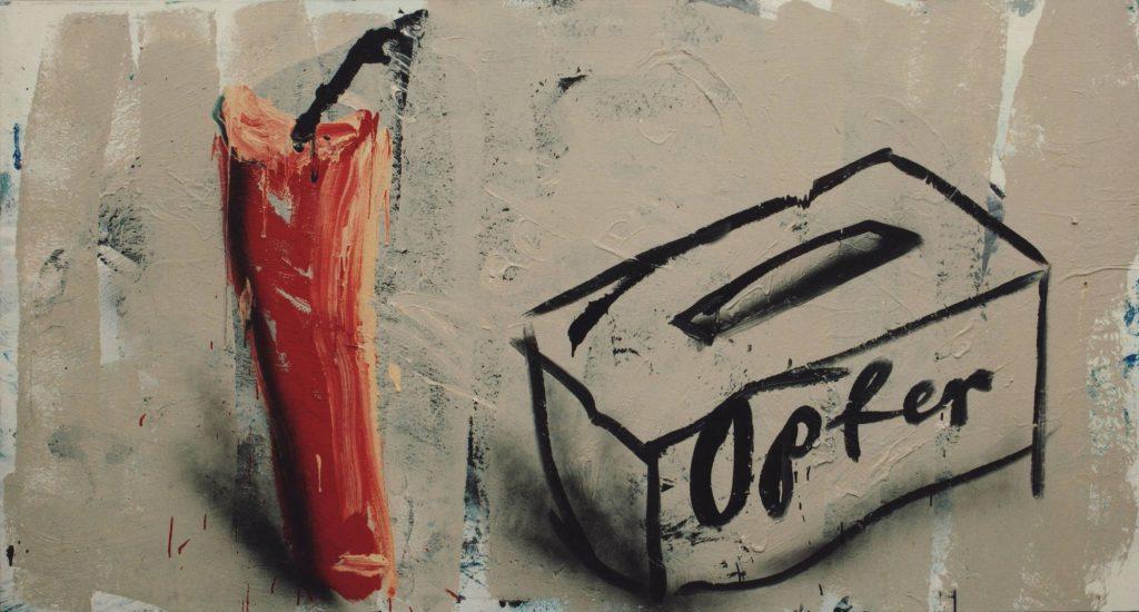 Dieter Krieg: 'Untitled', 1992. Private collection. © VG Bild-Kunst, Bonn 2016.