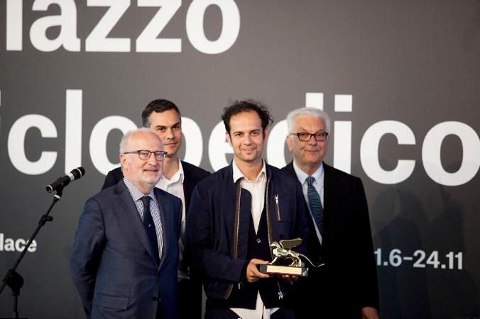 Tino Seghal modtager Guldløven på Venedig Biennalen i 2013
