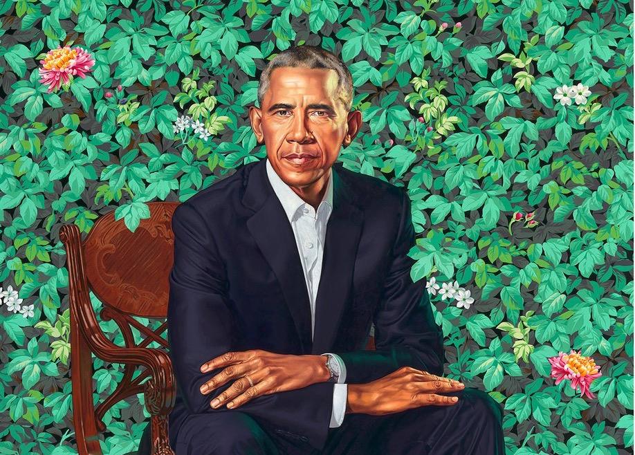 Kehinde Wiley har portrætteret Obama