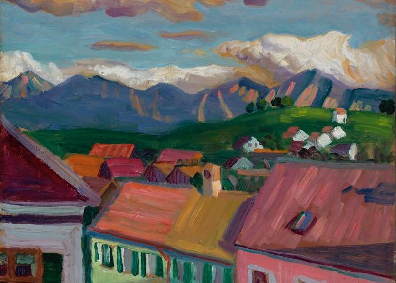 Meget tyder på, at det var Gabriele Münter, der lærte Kandinsky at bruge farver!